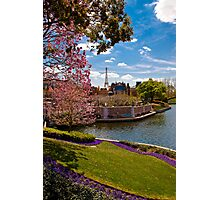 La ville de l'amour (The City of Love) .... Disney Style Photographic Print