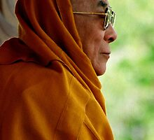 tawa. HH Dalai Lama, northern india by tim buckley | bodhiimages
