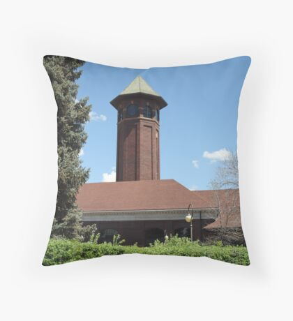 Great Northern Depot - Great Falls - MT  Throw Pillow