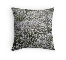 Baby's Breath - Natural Beauty  Throw Pillow