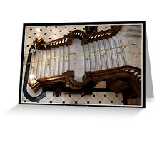 Grand Castle Staircase  Greeting Card