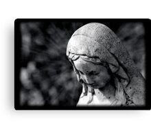 Virgin Mary Statue Canvas Print