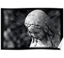 Virgin Mary Statue Poster