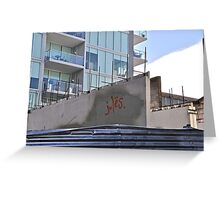 Jules.....was here!  Greeting Card