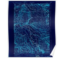 USGS Topo Map Oregon Boring 282269 1914 62500 Inverted Poster