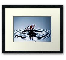 Wet Sombrero Framed Print