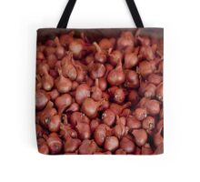 Shallots, Ferry Building Farmers Market,  Tote Bag