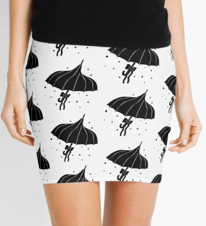 Goth Umbrella Mini Skirt