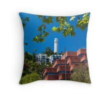 Coit Tower Throw Pillow
