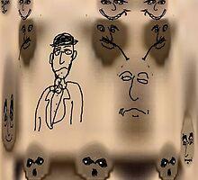 vintage alien artifact by Stacey Lazarus