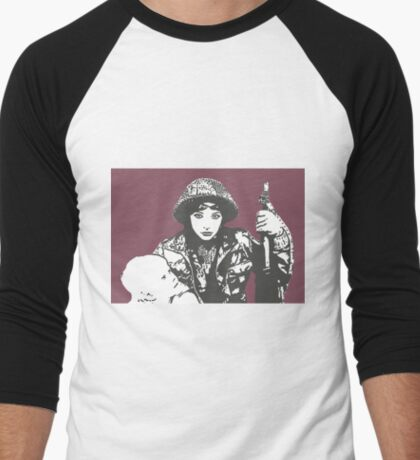 Military Child - Kate Bush Men's Baseball ¾ T-Shirt