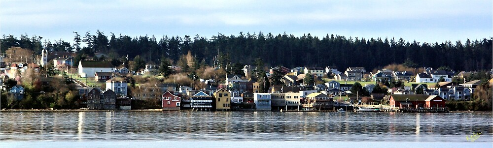 Coupeville Pan by Rick Lawler