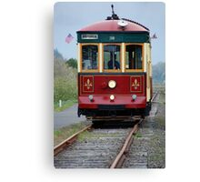 Astoria Trolley Canvas Print