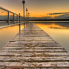 """Pier""ing at the sunrise. by vilaro Images"