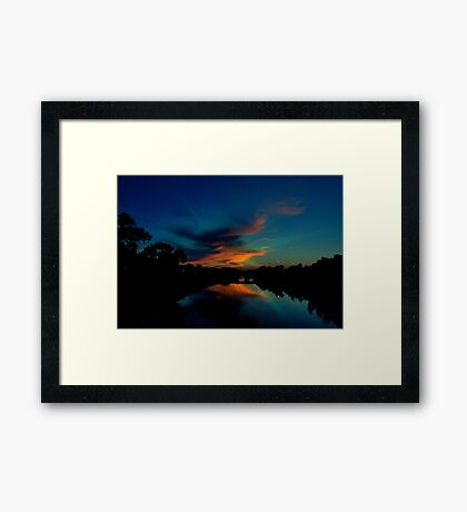 Even The Earth Prepares Framed Print