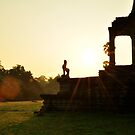 Angkor Wat at sunrise by Tom Shapland