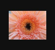 Single Apricot Gerbera Womens Fitted T-Shirt