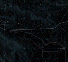 USGS Topo Map Oregon Virtue Flat 20110831 TM Inverted Sticker