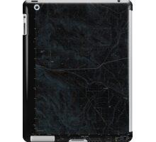 USGS Topo Map Oregon Virtue Flat 20110831 TM Inverted iPad Case/Skin