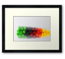 Skittles Cocktail Framed Print