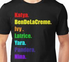 Rainbow of Miss Congeniality Unisex T-Shirt