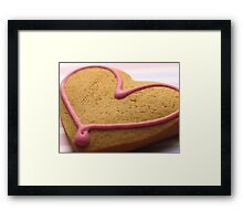 A Cookie for Mum Framed Print