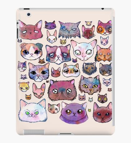 Feline Faces iPad Case/Skin