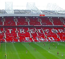 The Stretford End by Tony Worrall