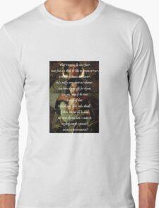 Princess Bride Rhymes Long Sleeve T-Shirt