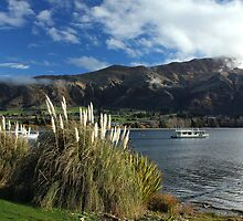 Lake Wanaka, NZ by Charles Kosina