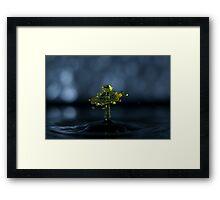 Yellow Gleam Framed Print