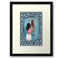 (*•.¸♥¸.•*´) A MIRRORED REFLECTION (*•.¸♥¸.•*´) Framed Print
