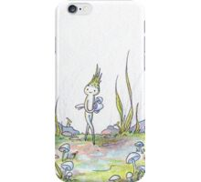 The Mushroom Gatherer iPhone Case/Skin