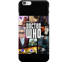 Doctor Who Series Nine iPhone Case/Skin
