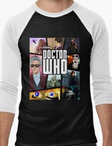 Doctor Who Series Nine Men's Baseball ¾ T-Shirt