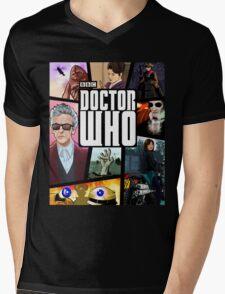 Doctor Who Series Nine Mens V-Neck T-Shirt