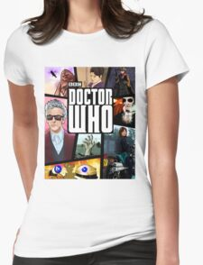 Doctor Who Series Nine Womens Fitted T-Shirt