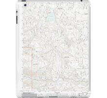 USGS Topo Map Oregon Willow Lake 20110808 TM iPad Case/Skin