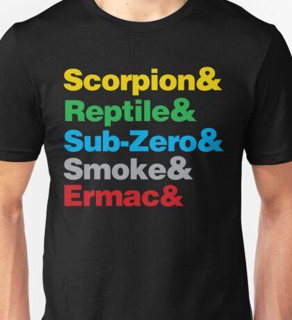 Mortal Kombat Beatles Parody shirt Unisex T-Shirt