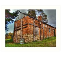 The Back Shed- Hill End Art Print