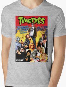 Timerats Mens V-Neck T-Shirt