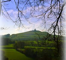 Brentor in the Distance by Charmiene Maxwell-Batten