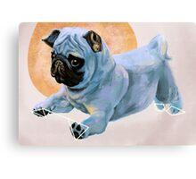 Pug(nacious) Canvas Print