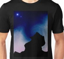 Two Moons. Unisex T-Shirt