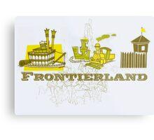 Frontierland Metal Print