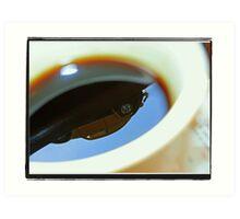 Bugs in my coffee Art Print