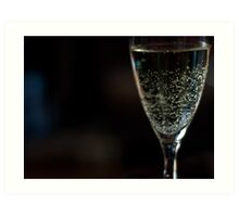 Celebratory Drink For You Art Print