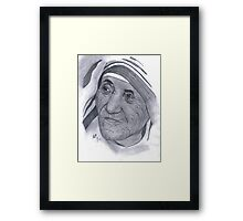 Mother Teresa and Mother's Day Framed Print