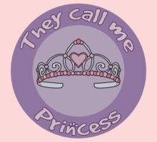 Children's Design They Call Me Princess by Christina Smith