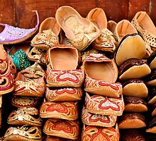 Souk Shoes by Carrie Brummer